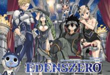 صورة الإعلان عن لعبة مقتبسة من الرواية المصورة Edens Zero من تطوير Konami