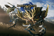 صورة استعراض جديد لأسلوب اللعب في Monster Hunter Rise